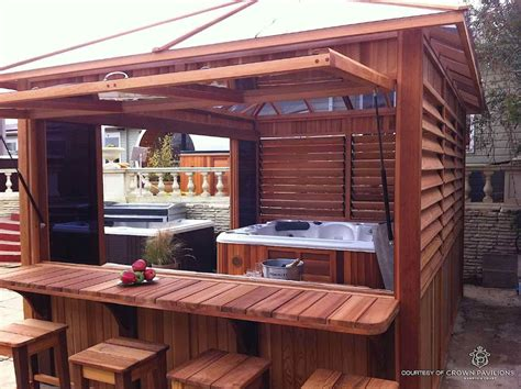 Here are 30 awesome hot tub enclosure ideas for your hot tubs are in themselves luxuries and the idea of investing a few thousand dollars more on an enclosure may seem like something. Hot Tub Enclosures for Winter | Tub enclosures, Hot tub outdoor, Portable hot tub
