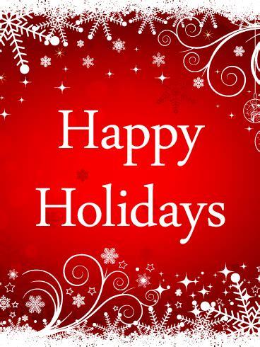 shiny happy holidays card birthday greeting cards  davia