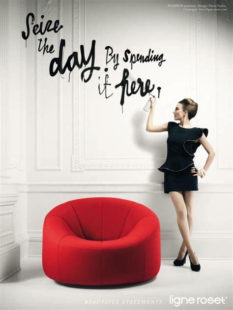 ligne roset furniture campaign  jvm