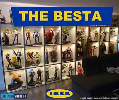 Display Ikea Action Figures Case Besta Cases