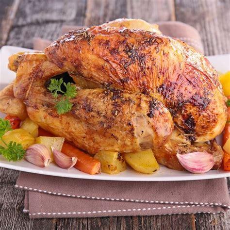 cuisiner poulet au four recettes poulet au four