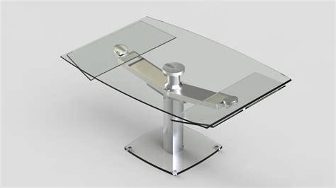 table de cuisine en verre avec rallonge table en verre avec rallonge design with table de cuisine