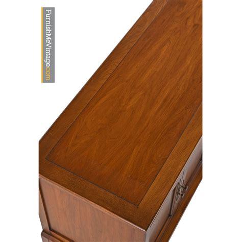 walnut credenza walnut brass credenza by white furniture mid century modern