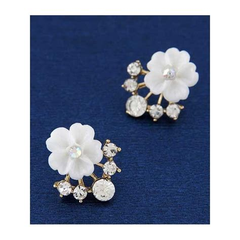 Murah Anting Bunga anting wanita motif bunga tt0348 moro fashion