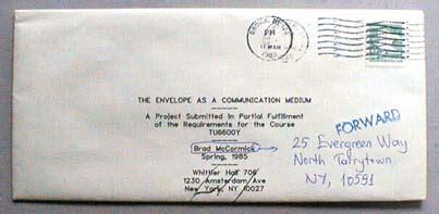 brad mccormicks envelope art page