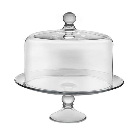 4484 cake stand with dome libbey selene 2 clear glass cake stand with dome