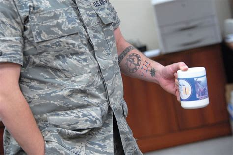 air force relaxes tattoo policy  sleeves militarycom