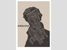 Sherlock Typographic Poster by skalatte on DeviantArt