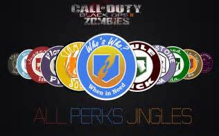 Black Ops 2 Zombies All Perks