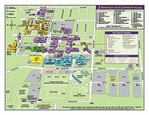 Mnsu Campus Map