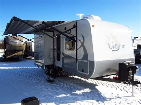 haylettrv 2016 light 216rbs travel trailer by ope