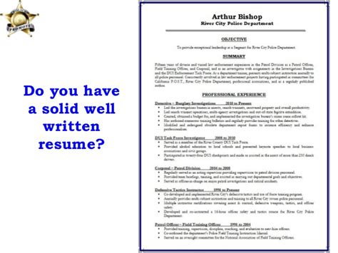 Enforcement Promotion Resume Exles by Promotion Dynamics