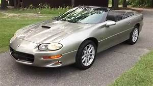2002 Chevy Camaro Ss  Slp Convertible 35h Anniversary