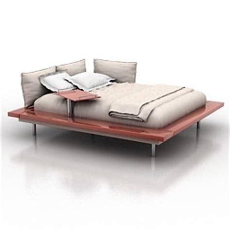 maly bett bed ligne roset maly bett n150410 3d model 3ds for interior 3d visualization beds shkaps