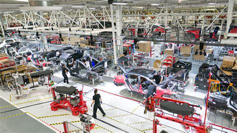 tesla model  production rate  units  week