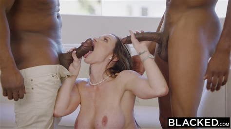 Blacked Hot Trophy Wife Fucks Bbc In Husbands Bed