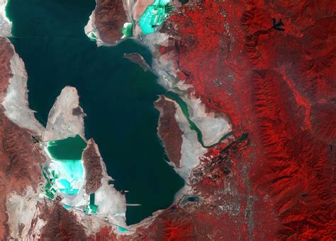 Earth From Space The Puzzle Of Utah Spaceref
