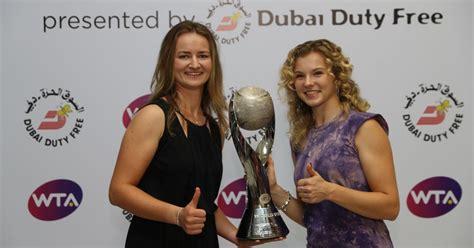 Atp ranking • wta ranking. Krejcikova and Siniakova secure 2018 WTA Year-End World No.1 Doubles ranking
