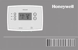 Honeywell Thermostat Rth2410 User Guide