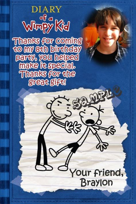 diary   wimpy kid   cards