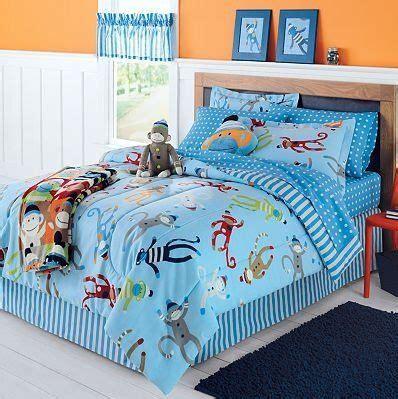 sock monkeys bedding sets and monkey on pinterest
