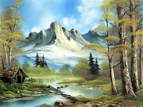 Bob Ross Facts! Funny Quotes, Jokes, Images And Video