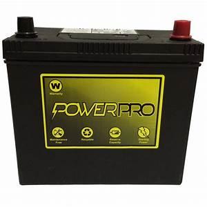 Powerpro 12v Automotive Battery 51r-4