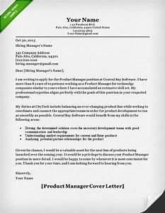 product manager and project manager cover letter samples With cover letter for product manager position