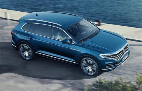 2019 Volkswagen Touareg by 2019 Volkswagen Touareg Unveiled Gets 310kw V8 Diesel