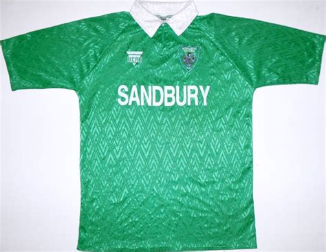 Northwich Victoria Home football shirt 1994 - 1996.