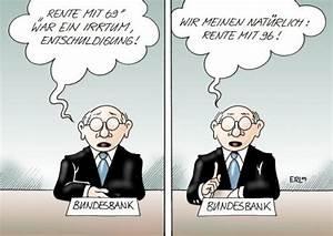 Rente Mit 55 Berechnen : rente von erl politik cartoon toonpool ~ Themetempest.com Abrechnung
