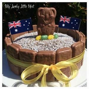 Australia Day Cake - No Bake - My Lovely Little Nest