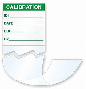 wrap around labels calibration labels in stock custom With calibration stickers template