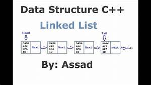 C++ Introduction to Singly Linked List Part 1/3 Langauge ...