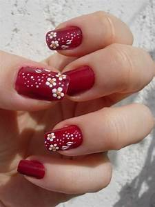 Easy Flower Nail Art Designs For Beginners Step By Step At ...