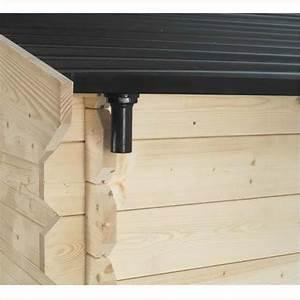 Gouttière Pour Abri De Jardin : goutti re pour abri en bois soleil toit pvc 3x3 m achat vente abri jardin chalet goutti re ~ Melissatoandfro.com Idées de Décoration