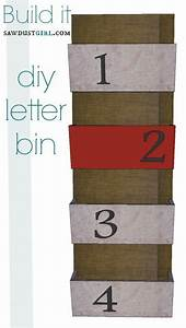 top 10 diy office organization tutorials top inspired With letter bin organizer wall