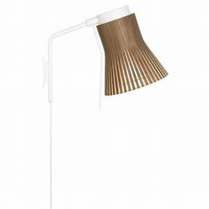 Lampe De Chevet Murale : lampe de chevet design fixer au mur design nordique au naturel ~ Teatrodelosmanantiales.com Idées de Décoration