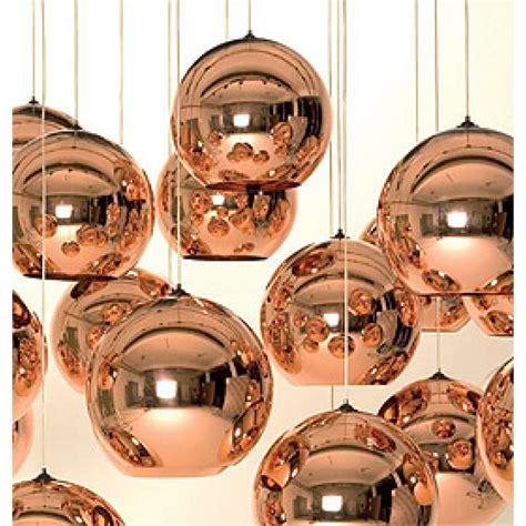 tom dixon copper l tom dixon copper shade light pendants design plus gallery