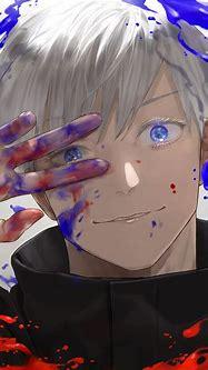 Safebooru - 1boy bangs black jacket blue eyes closed mouth ...