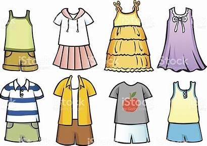 Clothes Clipart Summer Season Kleidung Clipartstation