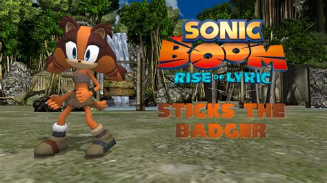 Rouge Giantess - sonic boom sticks the badger read description by