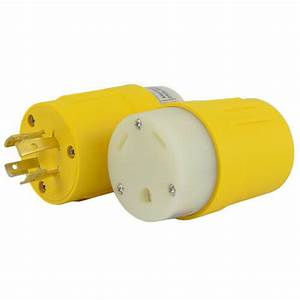 Generator To Rv 20a 125  250v To 30a 125v Plug Adapter L14