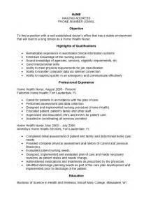 home health care rn resume free home health resume template sle ms word
