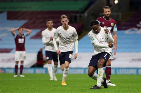 Burnley 0-3 Man City: Raheem Sterling double sends City ...