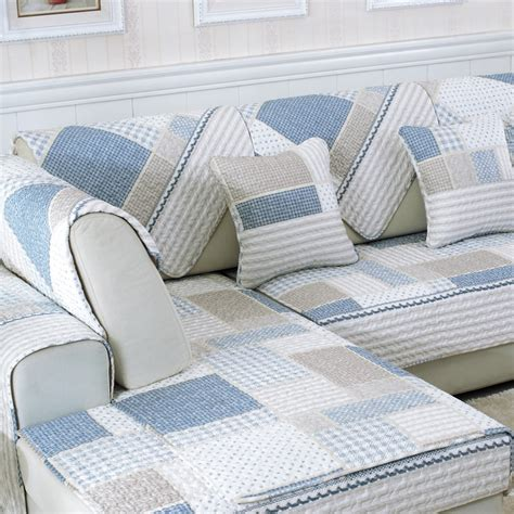 Loveseat Slipcover Pattern by Sofa Covers Cotton Eco Friendly Sofa Plaid Pattern