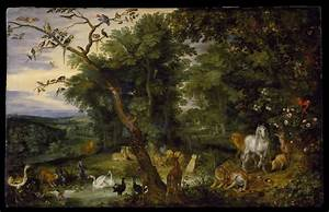 The Temptation in the Garden of Eden | Brueghel, Jan the ...