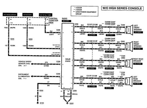 2000 mercury mountaineer radio wiring diagram 45 wiring