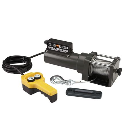 1500 lbs capacity 120 volt ac electric winch