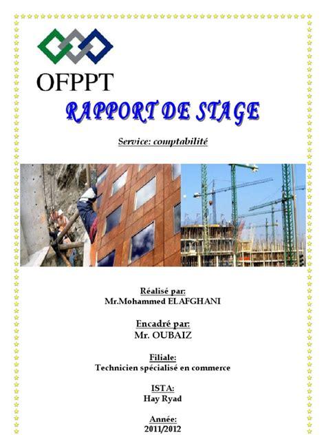rapport de stage cuisine rapport de stage service comptabilité 2